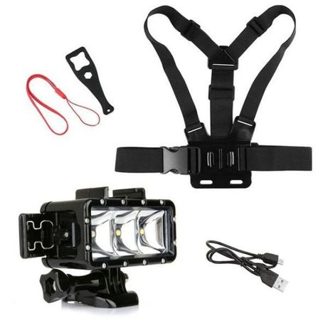 Комплект pro water set аксесоари за екшън камери gopro hero, sjcam и д