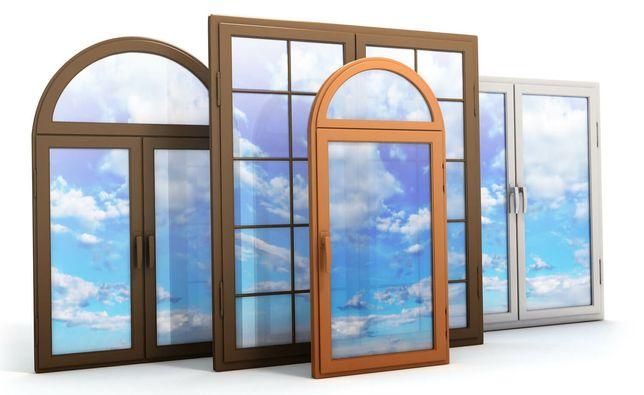 Окна Двери Витражи Пластиковых и Алюминивие