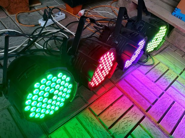 Светомузыка LED PAR 36