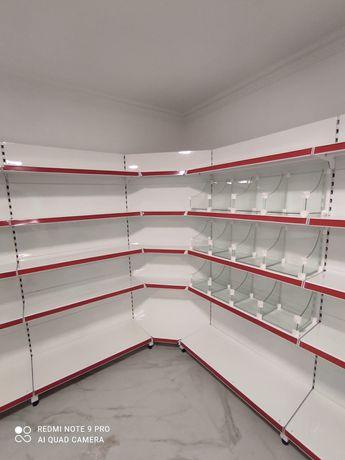Торговое оборудование и полки для магазинов и другого бизнеса в широко