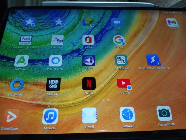 Huawei matepad pro+google play+stilou+husa wake/sleep+husa keyboard