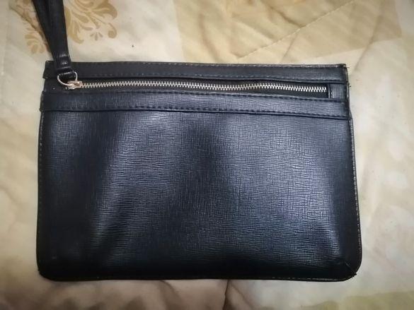 Дамска елегантна черна чанта на атмосфер/atmosphere