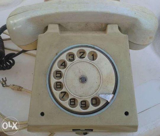 Pt. bunici, colectionari - telefon fix, cu disc, anii '80, functional