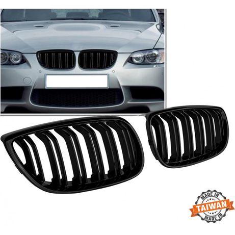 М3 тип Двойни черен гланц Бъбреци/решетки за BMW E92/E93 купе и кабрио