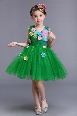 Платье цветочная полянка