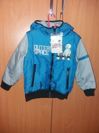 Куртка-жилетка на мальчика