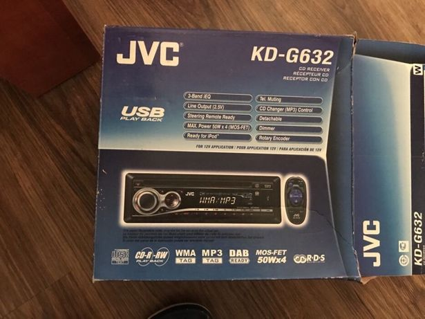 JVC cd player auto