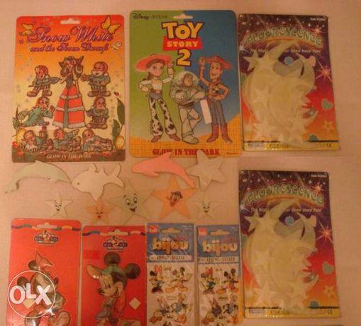 Светещи стикери и фигури за стена, таван, за детска стая и дрехи