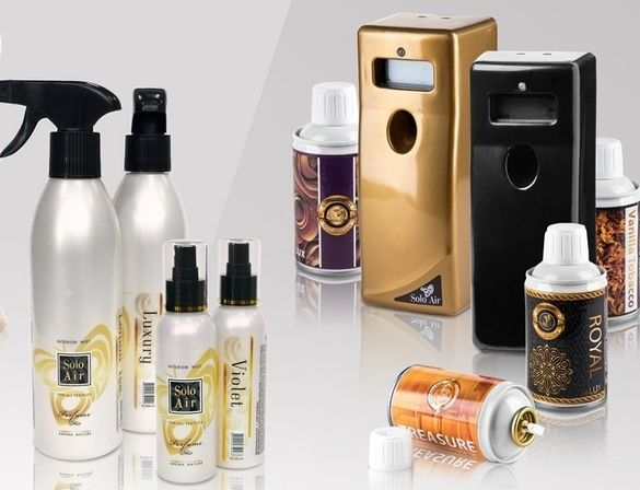 Професионални ароматизатори SOLO AIR