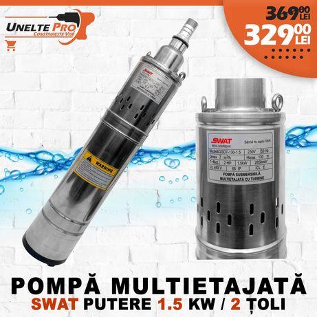 Pompa Submersibila Multietajata cu turbina SWAT 1.5KW 3000/rpm CUPRU