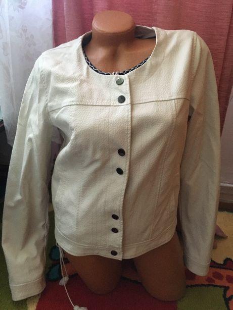 Jacheta geaca dama din piele ecologică mr.40 M Grain de Malice Franta