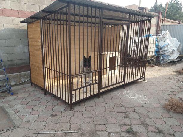 Вольеры для собак.