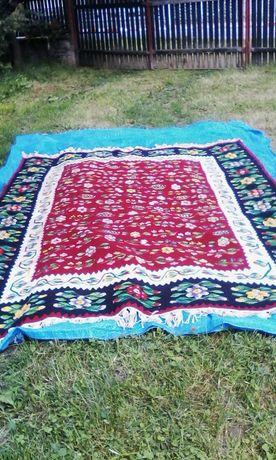 Covor oltenesc lana,tesut la gherghef\vintage, 280/210 cm