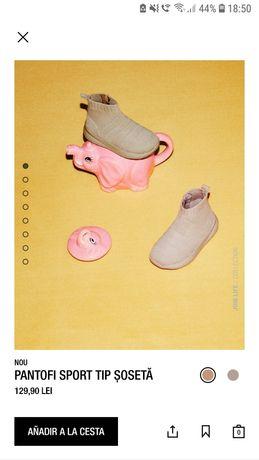 Pantofi sport tip șosetă Zara mărimea 20