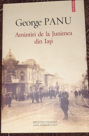 Amintiri de la Junimea din Iasi- George Panu