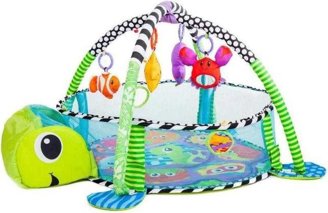 !Новинка!Игровой коврик для новорождённого развивающий коврик