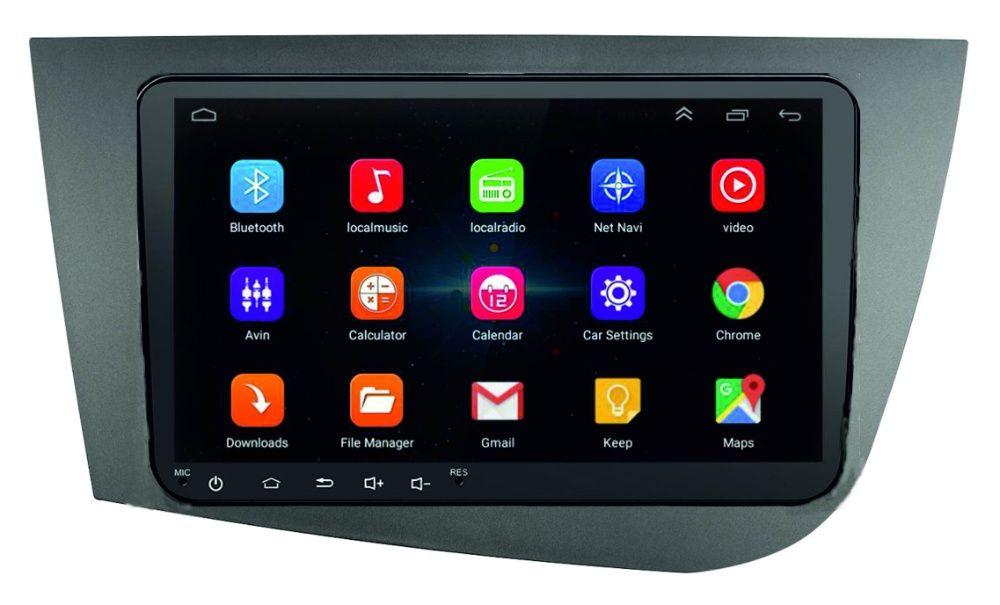Navigatie Android - 9 inch Seat Leon Altea Toledo-dedicata+rama mare Bucuresti - imagine 1