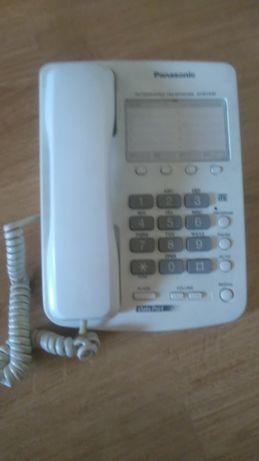Стационарен телефон Panasonic с цифрово набиране -обновена