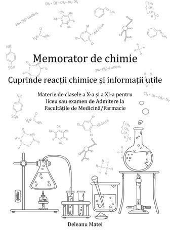 Carte Chimie Organica pentru Liceu sau Admitere Medicina/Farmacie