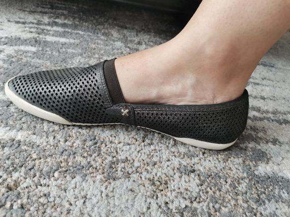 Дамски кожени обувки FRYE
