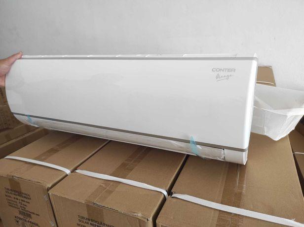 Instalare aer conditionat 9 – 12000 BTU pentru aparat cu chit inclus