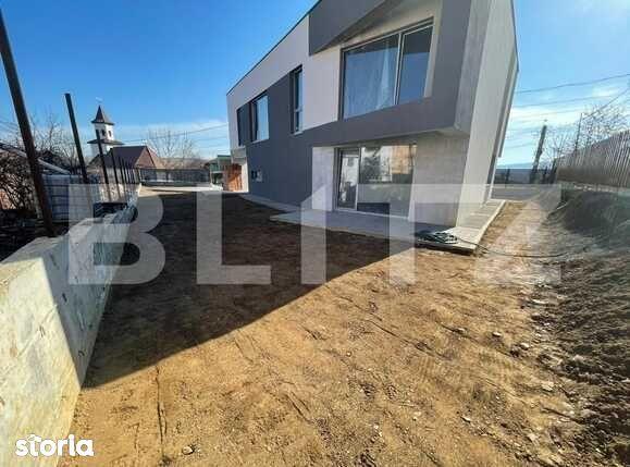 Casa individuala, design modern, 160 mp utili, 500 mp teren, Borhanci