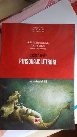 Dictionar de personaje literare clasele V-VIII