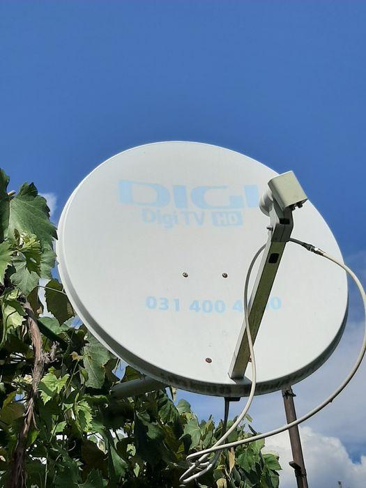 Antena digi tv pentru doua televizoare cu doua decodoare hd.