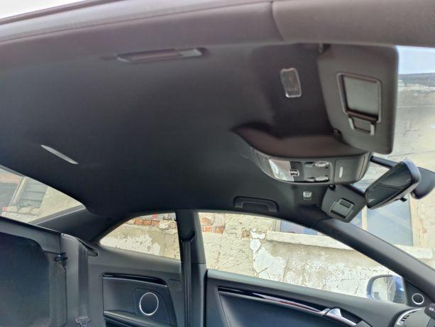 Plafon interior negru complet audi a5 coupe s line