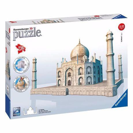 Puzzle 3D Ravensburger Taj Mahal 216 piese [sigilat] + Cadou