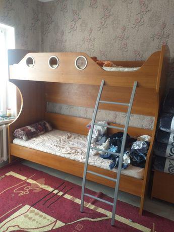 Детский мебель двухэтажный