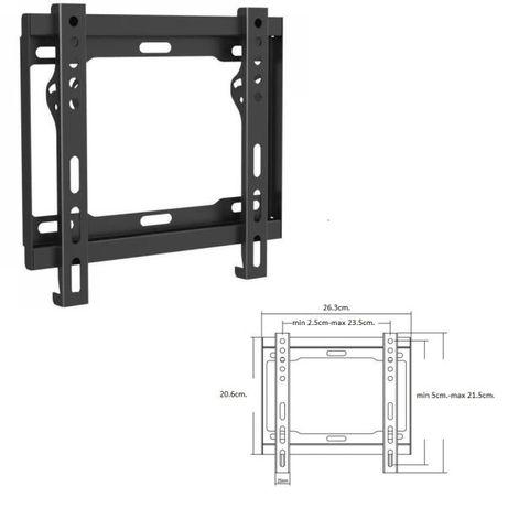 """Метални стойки за ТВ LCD LED лед за стена от 13"""" до 55"""" 12 лева"""