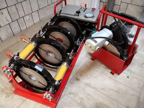 Машина за челно заваряване на тръби HDPE