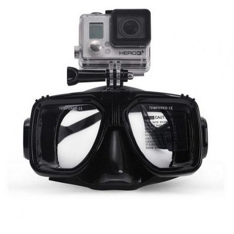 Подводна маска за екшън камери GoPro Xiaomi Yi