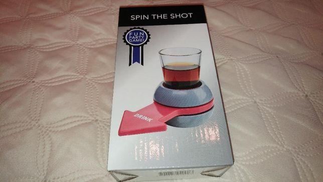 Joc pentru petreceri - Joc de baut Spin-the-Arrow cu pahar pentru shot