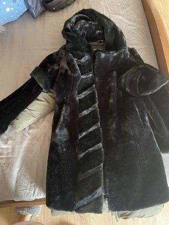 Продам пальто, пуховик, шубу женскую размер 42-44-46