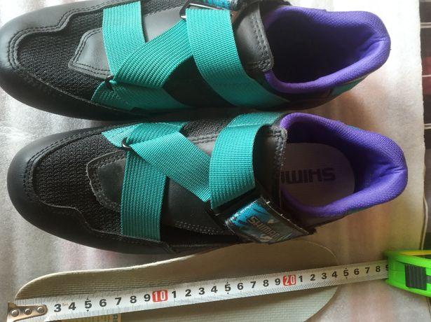 Shimano SH R070 pantofi bici noi, Nr. 39( 24,5cm), cu placute