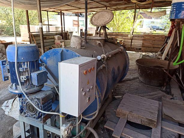 Оборудование для производство полистирол блоков пеноблоков два в одном