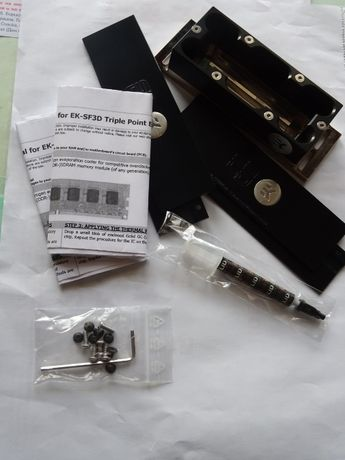 Система за охлаждане на RAM с течен азот EKWB EK-SF3D Triple Point EVO