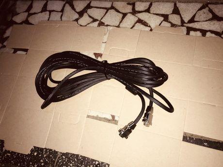 Cablu Ecranat VGA Mama-Tata 10m Nou Italy