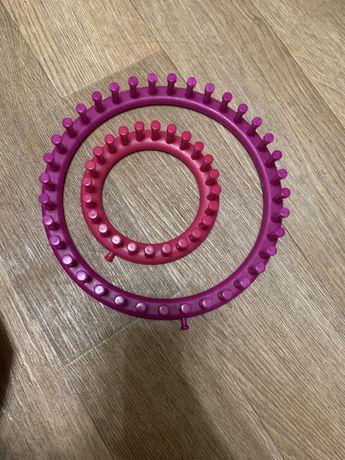 Вязальные круги, вязальная машинка