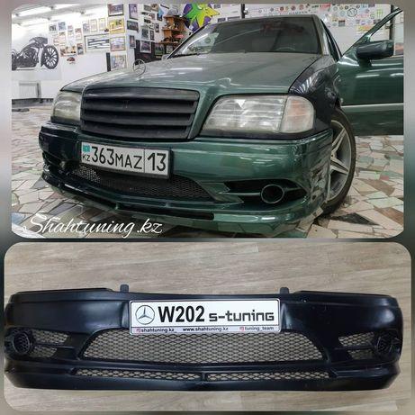 Передний бампер для Mercedes Benz W202 S-tuning