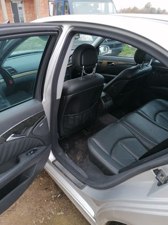 Interior piele Mercedes E class 211