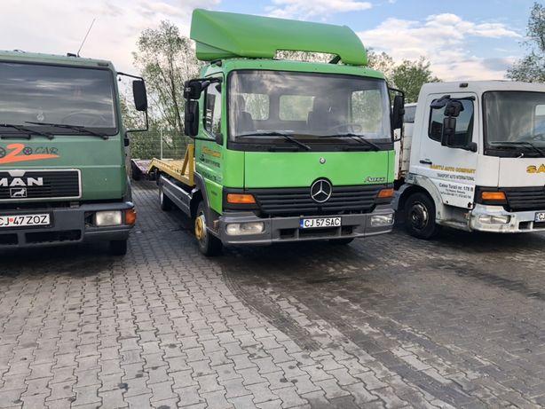 Mercedes Atego transportor auto/tractari