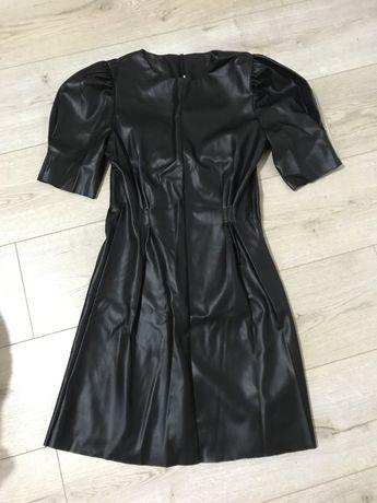Новое платье кожа