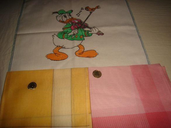 Дамски и детски носни кърпички