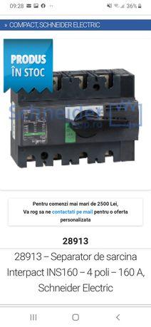28913 - Separator de sarcina Interpact INS160 - 4 poli - 160 A