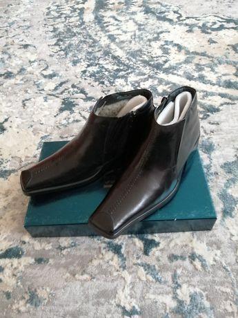Новые итальянские мужские зимние сапоги