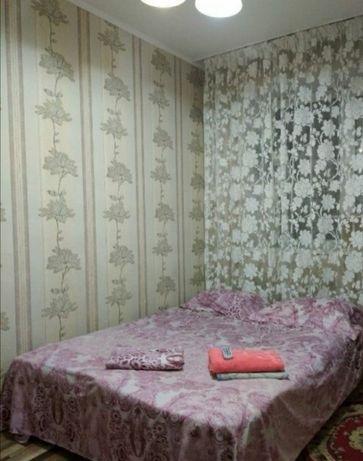 Сутки, ночь 1-ком. квартиры район 7 поликлиники, Нац. Гвардии