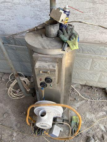 Печь газовая один контур